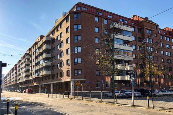 Renoveringar av trapphus på BRF Breitenfeld på Stampgatan i Göteborg utfört av Floreas Bygg & Förvaltning.