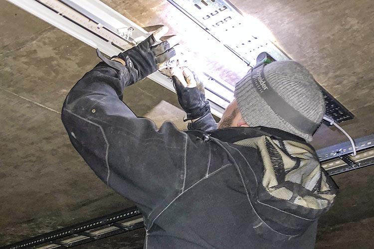Byte av garagebelysning – BRF Breitenfeld