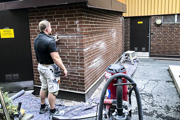 Renovering på HSB BRF Friggagatan